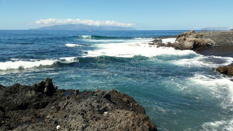 Ilhas Canárias da praia foto de stock royalty free