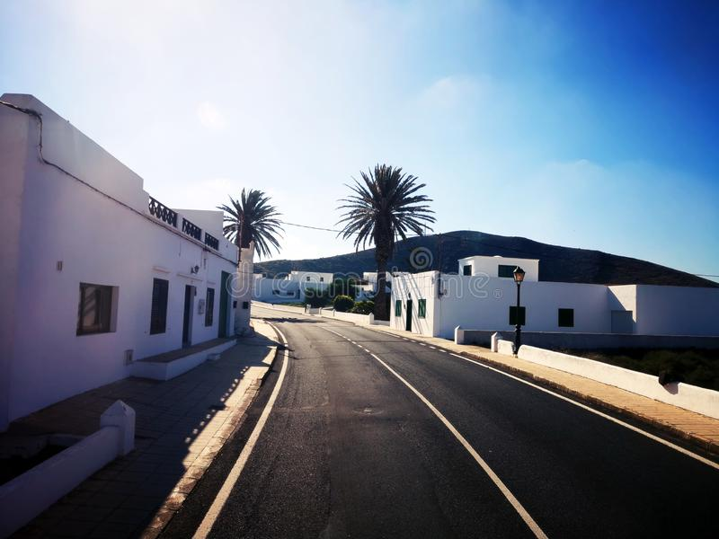 Ilhas Canárias Lanzarote fotografia de stock royalty free
