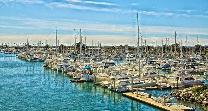 Ilhas channel Marina Oxnard California foto de stock royalty free