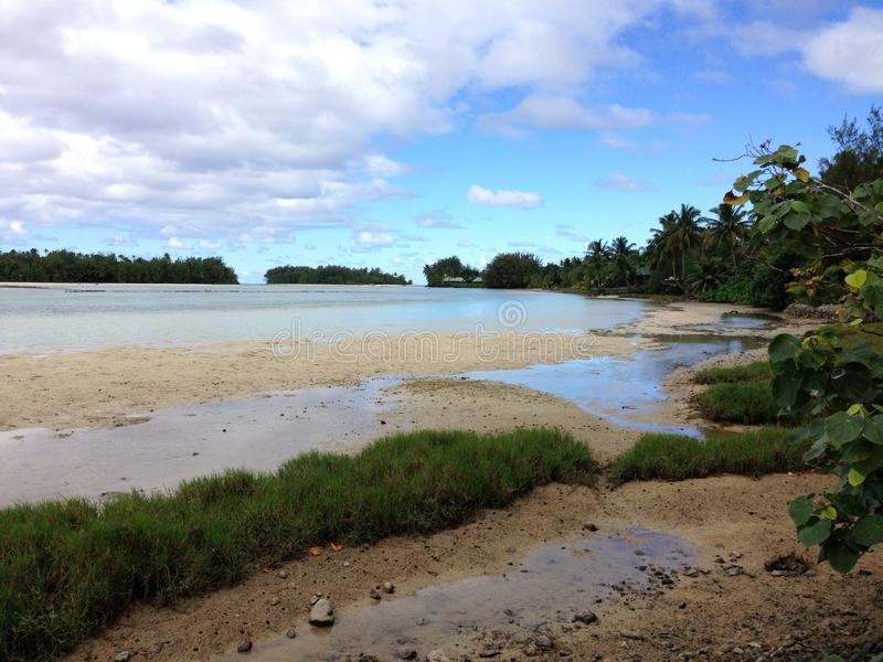 Ilhas Cook fotografia de stock