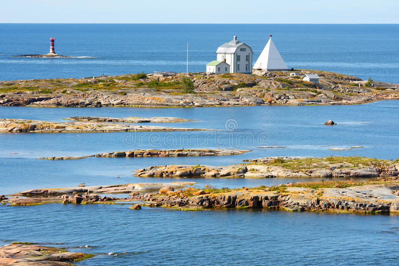 Ilhas de Aland, Kobba Klintar imagem de stock royalty free