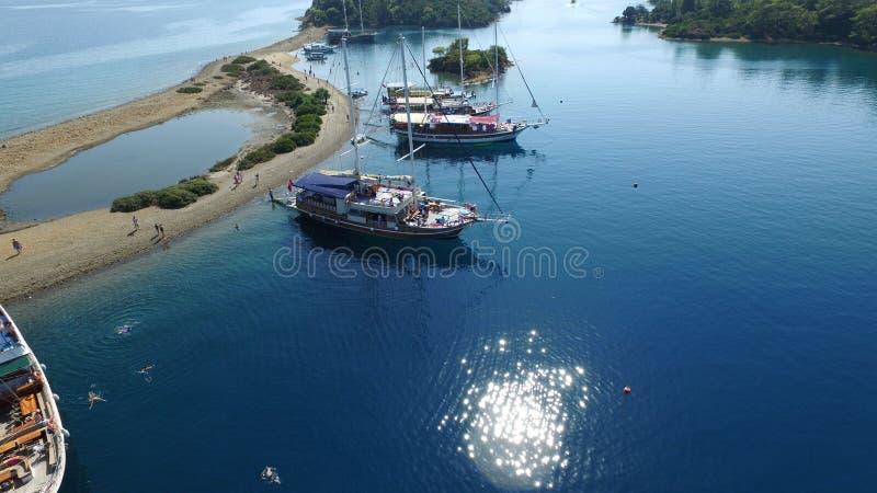 Ilhas de Gocek foto de stock