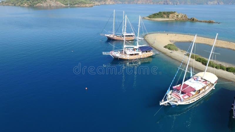 Ilhas de Gocek fotografia de stock