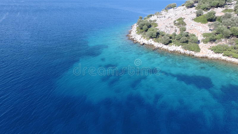 Ilhas de Gocek fotografia de stock royalty free