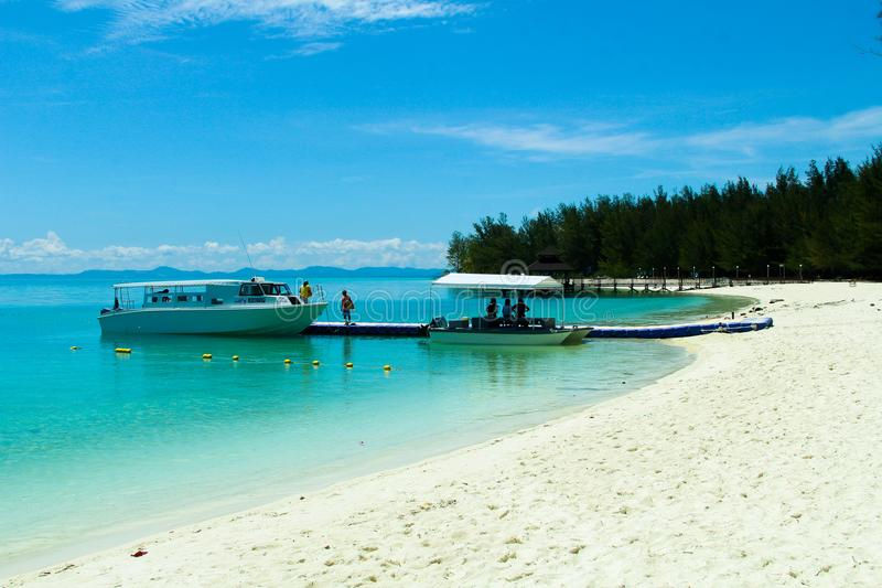 Ilhas de Mantanani fotos de stock