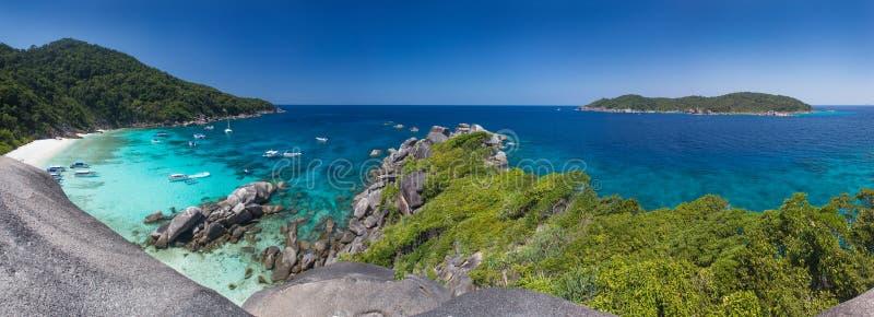 Ilhas de Similan fotografia de stock