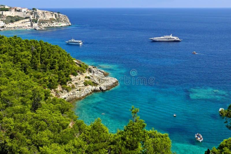 Ilhas de Tremiti fotografia de stock royalty free