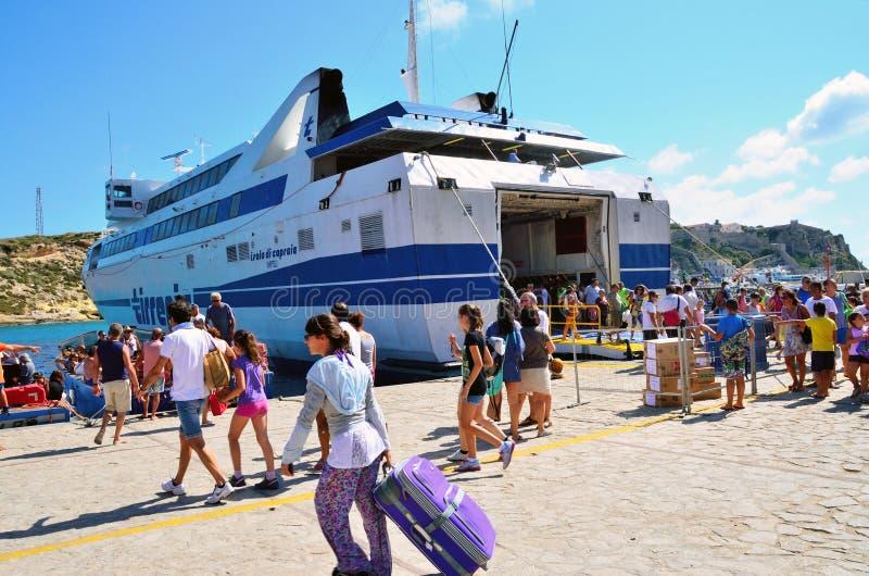Ilhas de Tremiti, Italia imagens de stock royalty free