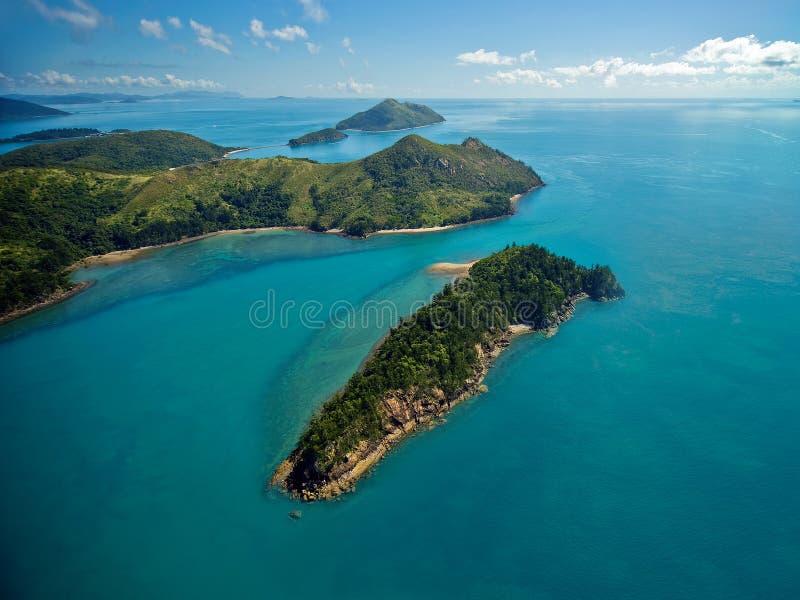 Ilhas Do Domingo De Pentecostes De Austrália Imagem de Stock