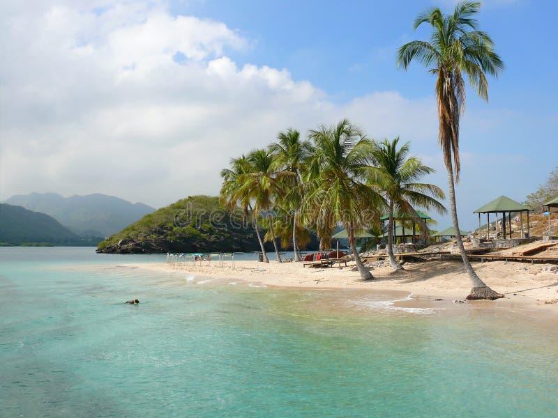 Ilhas do paraíso imagem de stock