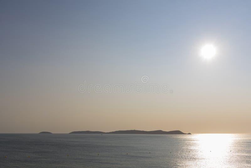 Ilhas Pontevedra de Cies, Espanha imagens de stock royalty free