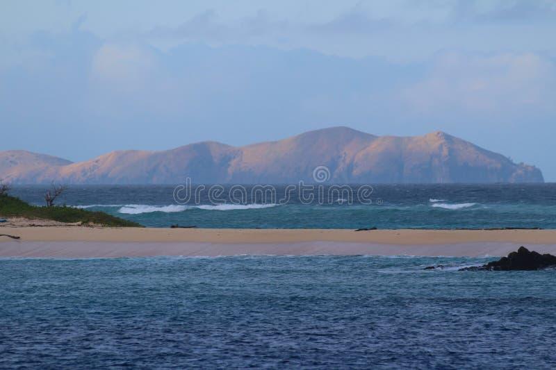 Ilhas sagrados, ilhas de Mamanuca, Fiji foto de stock