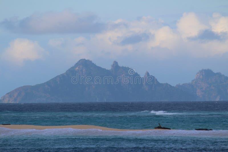 Ilhas sagrados, ilhas de Mamanuca, Fiji foto de stock royalty free