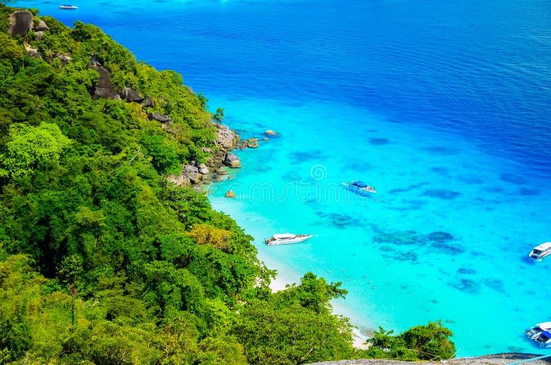 Ilhas Similans de Tailândia imagem de stock