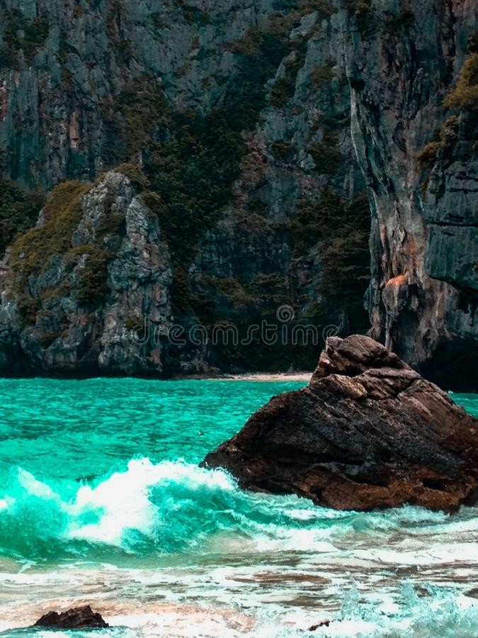 Ilhas Tailândia de Phi Phi foto de stock royalty free