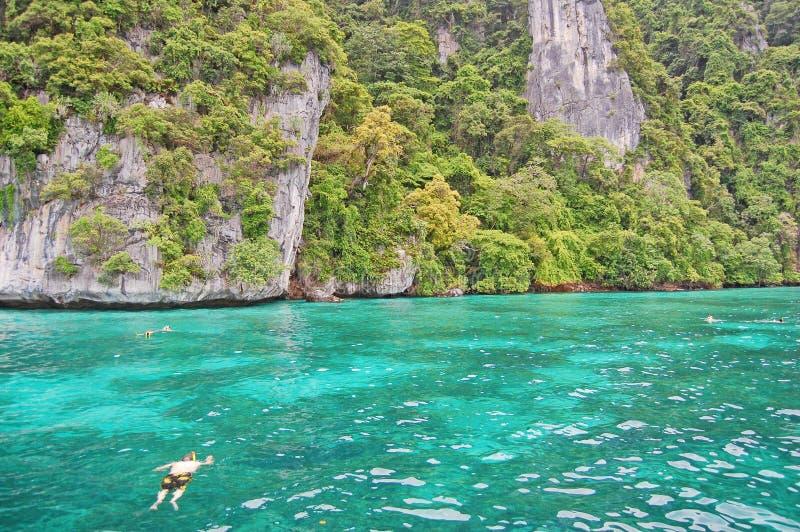 Ilhas Tailândia de Phi Phi foto de stock