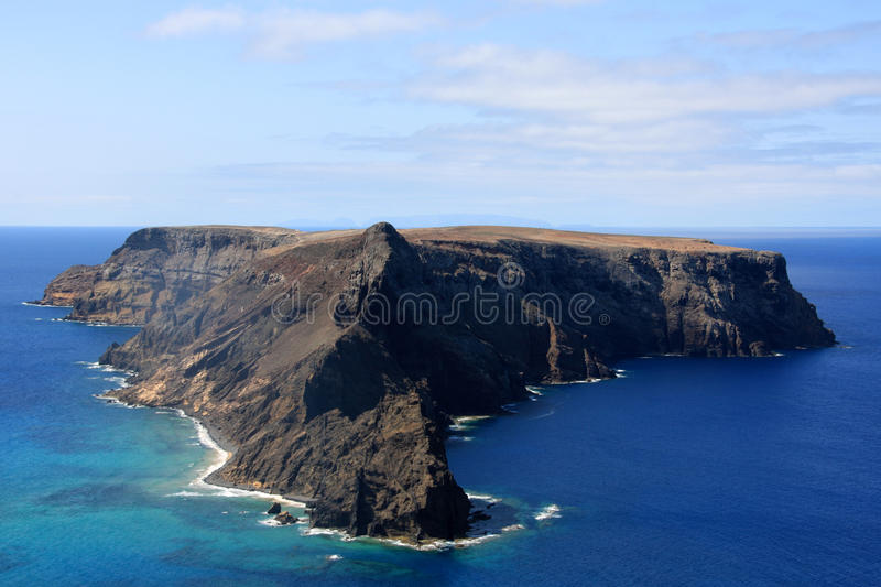 Download Ilheu De Baixo, Porto Santo Stock Image - Image: 10953987