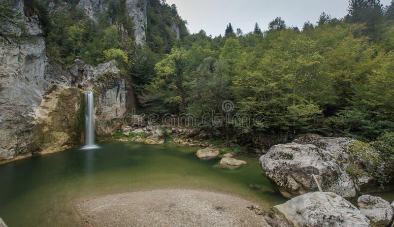 Ilica vattenfall Kastamonu, Turkiet royaltyfria foton