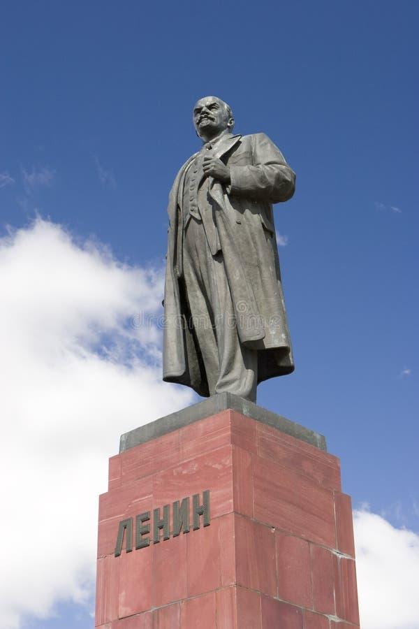 ilijc列宁雕象uljanov vladimir 库存照片