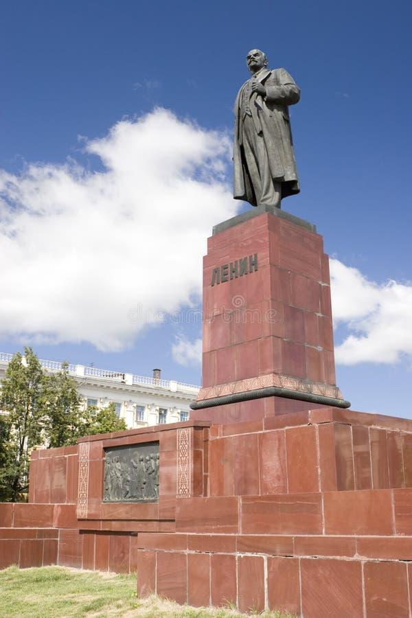 ilijc άγαλμα Λένιν uljanov vladimir στοκ εικόνα
