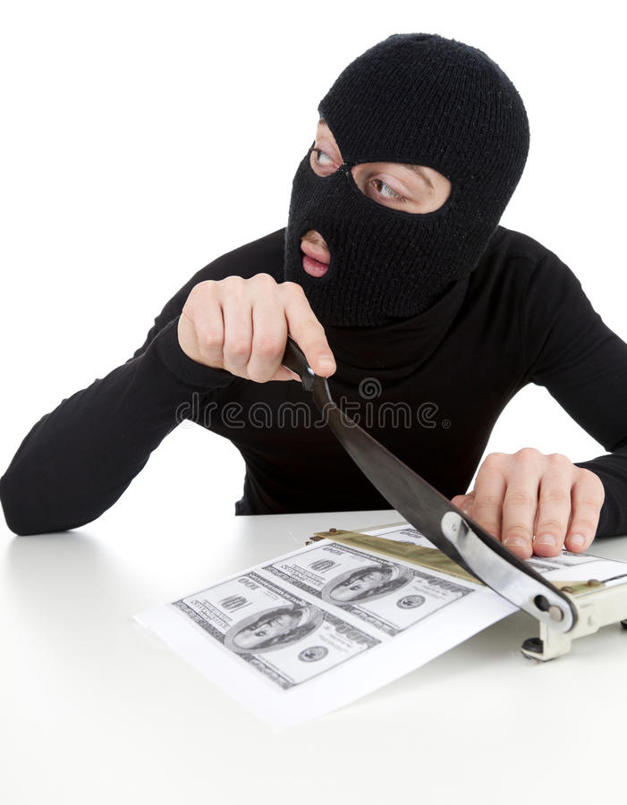 Download Illegal Manufactory Of Money Stock Images - Image: 24073774