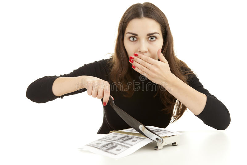 Download Illegal Manufactory Of Money Stock Photo - Image: 24295408