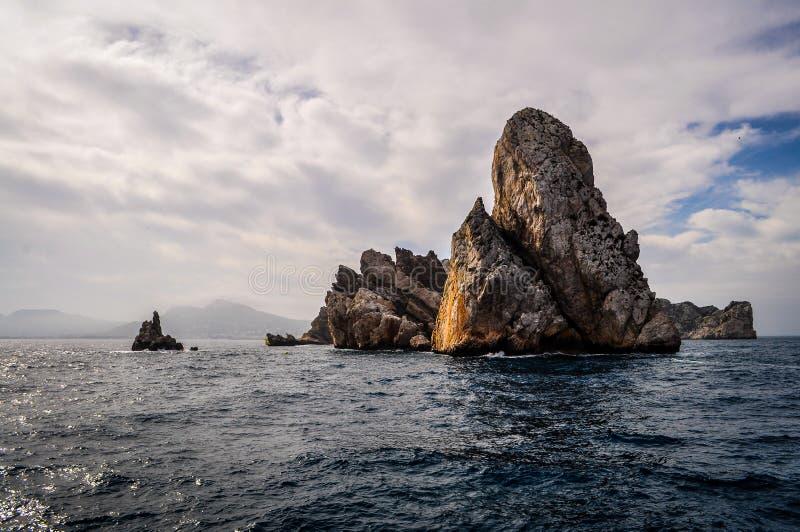 Illes Medes, Espanha foto de stock