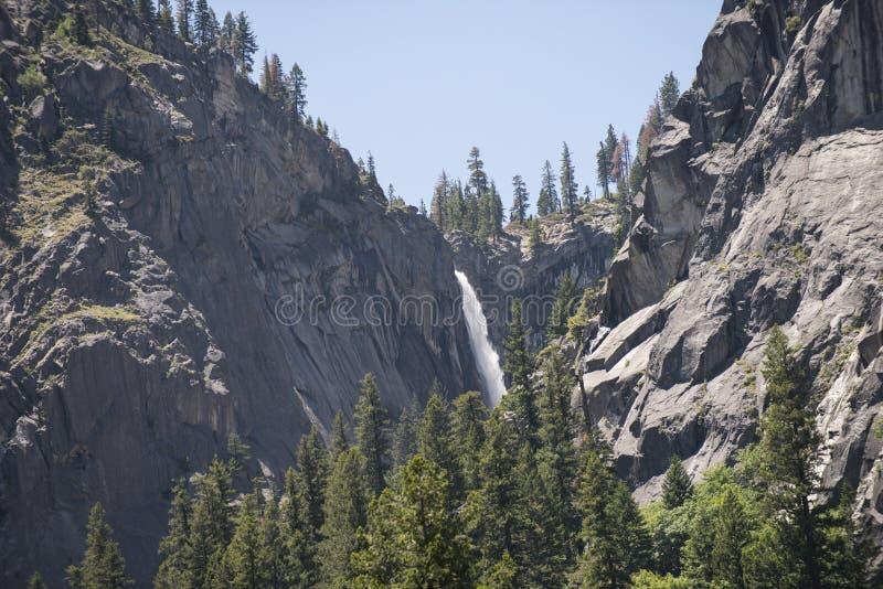Illilouette baja en la garganta del granito, Yosemite, California fotos de archivo libres de regalías