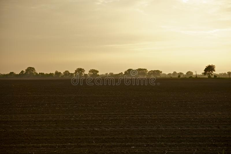 Illinois-Ackerland lizenzfreie stockbilder
