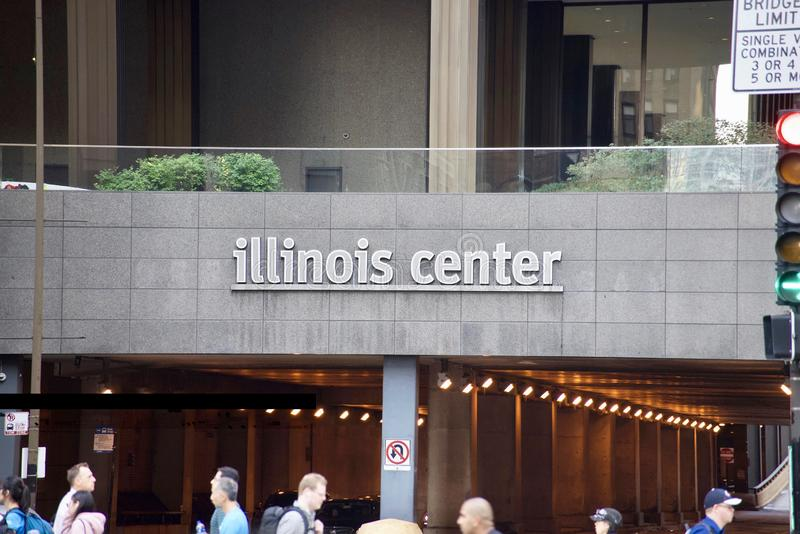 Illinois Center Urban Development, Chicago, Illinois stock photos