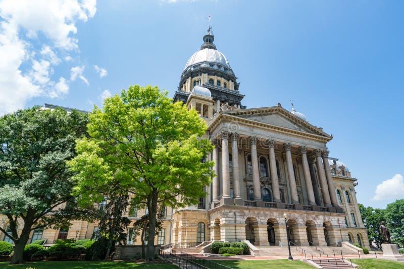 Illinois State Capital Building. In Springfield, Illinois stock photo