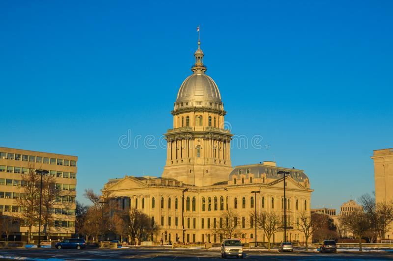 Illinois State Capitol Building, Springfield, IL royalty free stock photos