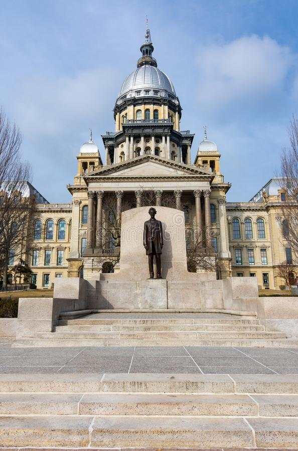 Illinois State Capitol Building stock images