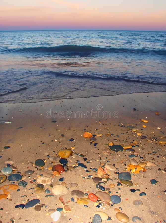 Illinois-Strand-Nationalpark lizenzfreie stockbilder