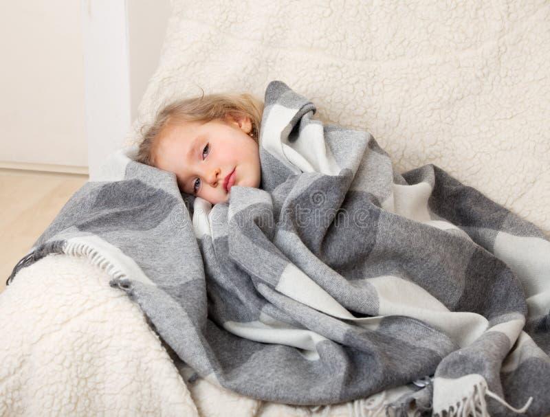 Illness child stock photos