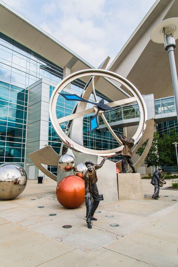 Illumina Art Sculpture photos stock
