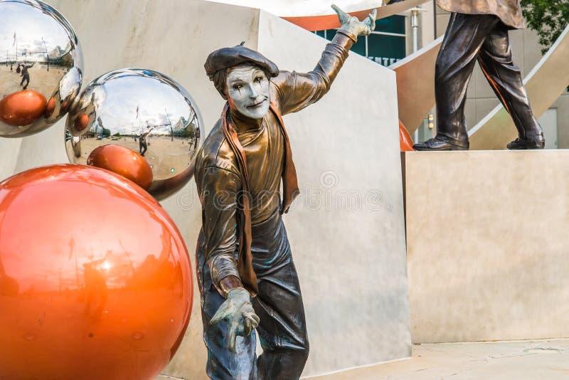 Illumina Art Sculpture image libre de droits