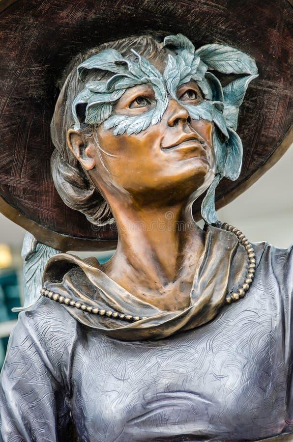 Illumina Art Sculptures imagem de stock royalty free