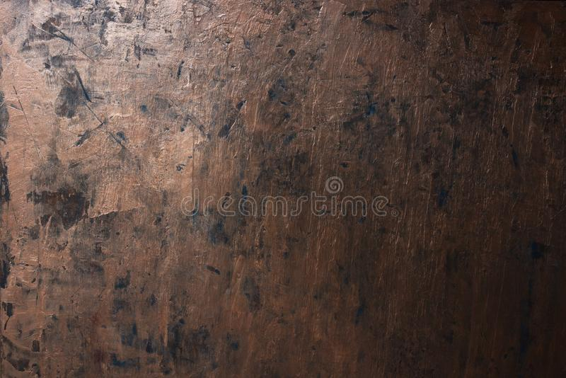 Grunge copper metal texture stock photos