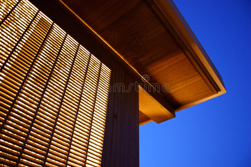 Download Illuminated Building Royalty Free Stock Photo - Image: 11541185