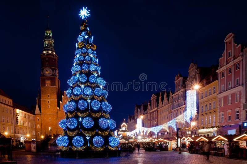 Download Illuminated city stock image. Image of buildings, citizens - 22943507