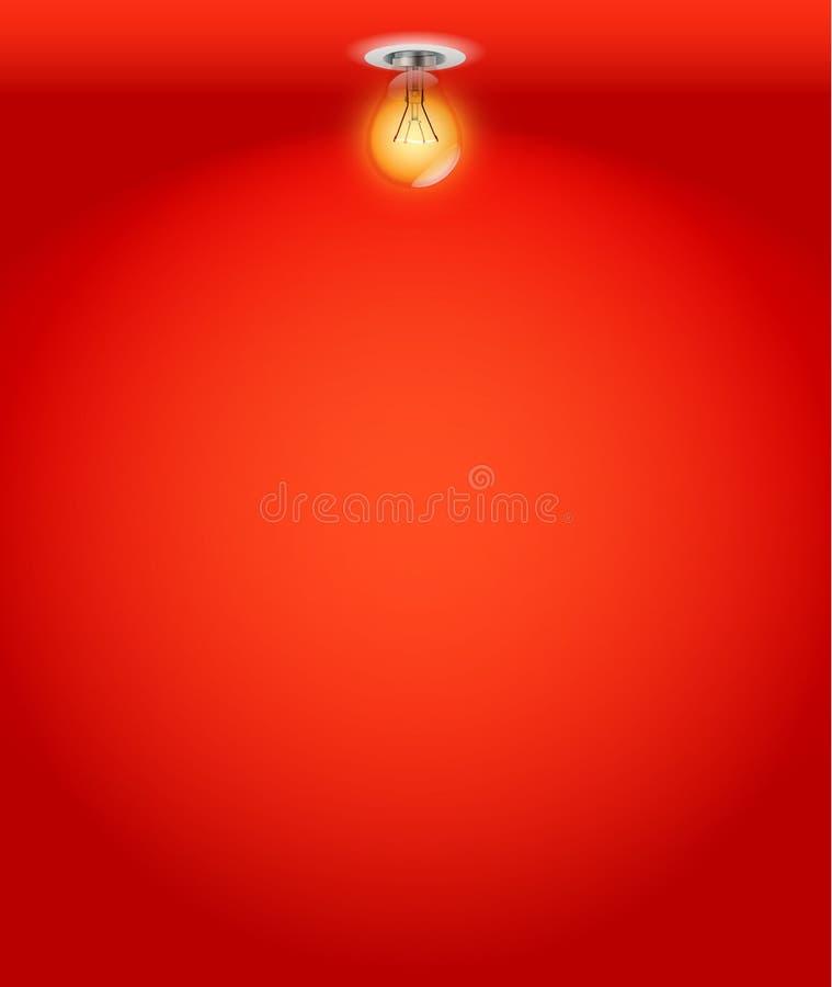 Download Illuminated Empty Wall Royalty Free Stock Image - Image: 22147336