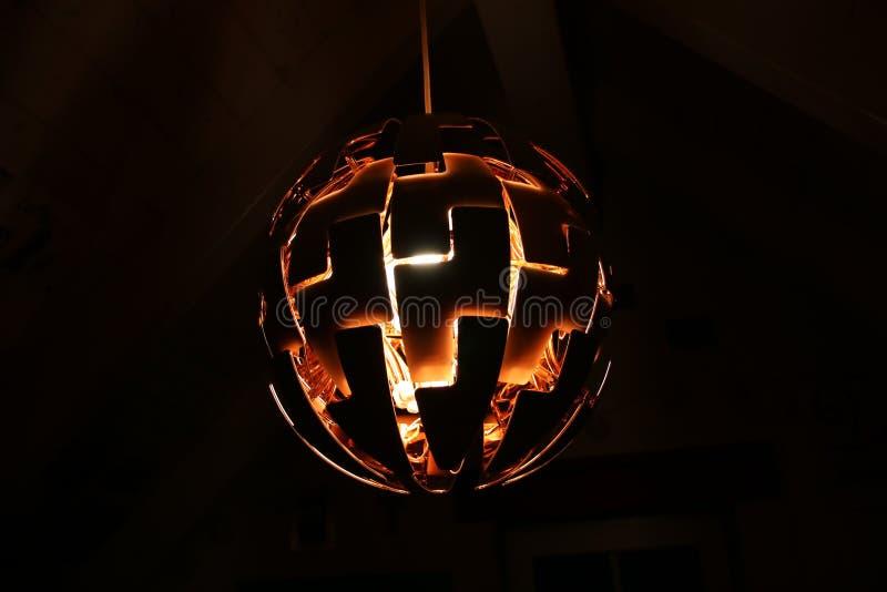 Illuminated Lamp stock image