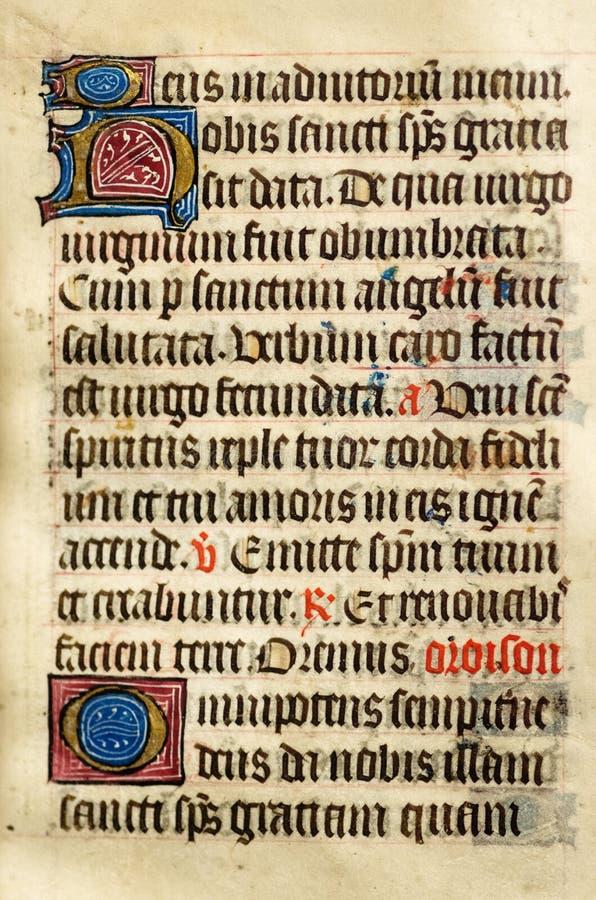 Free Illuminated Manuscript Stock Photography - 38212112