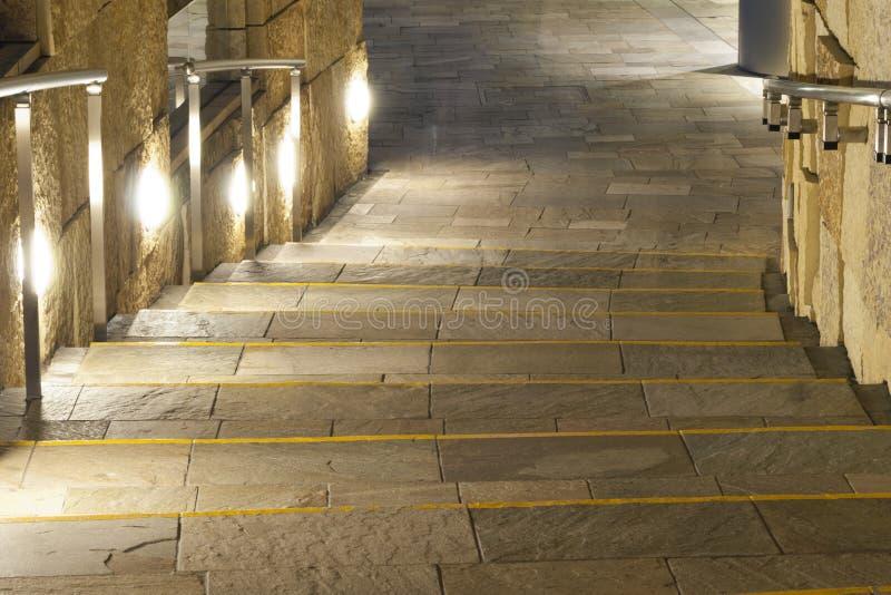 Download Illuminated path stock photo. Image of illuminated, building - 26044260
