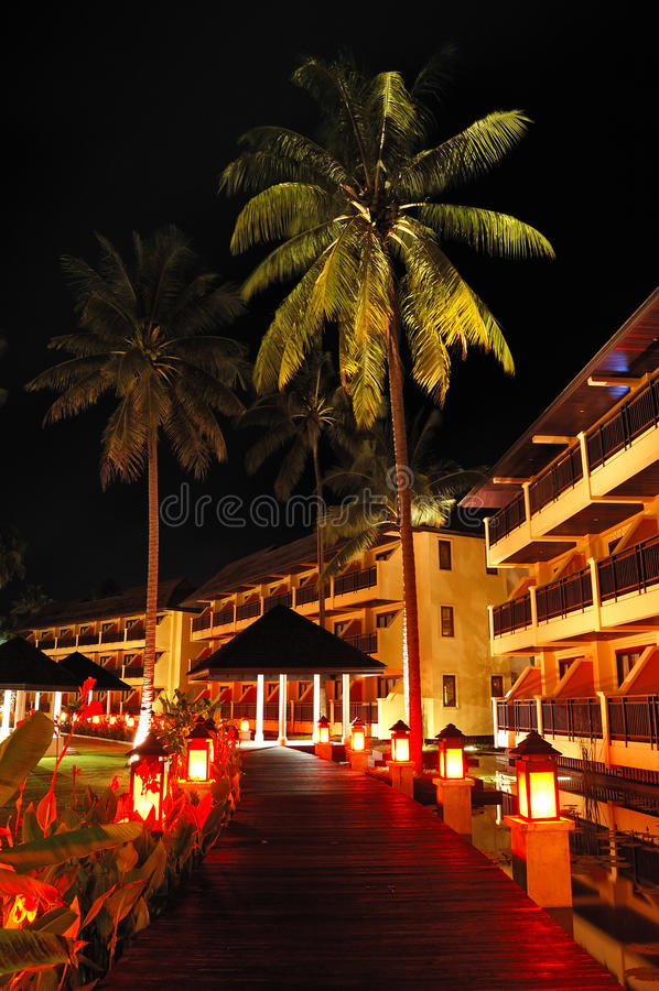 Download Illuminated Relaxation Area Of Luxury Hotel Stock Image - Image: 16499209