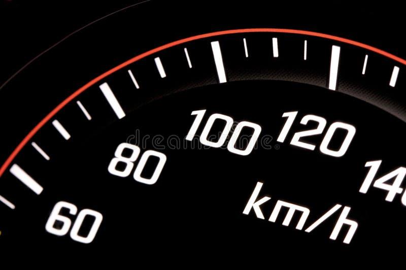 Download Illuminated speedometer stock image. Image of accelerate - 7734329