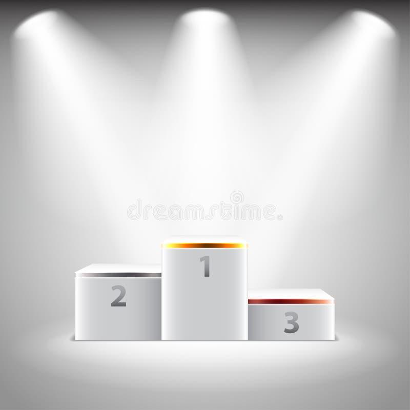 Winners Podium Illuminated Sta...