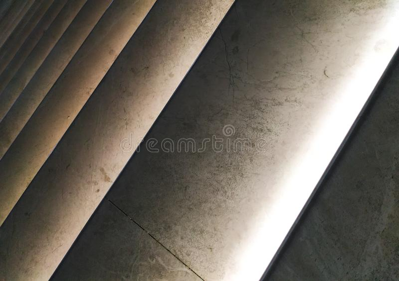 Illuminated steps abstract closeup background. Image royalty free stock photography