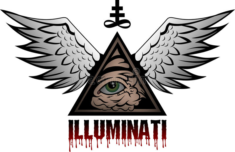 illuminati бесплатная иллюстрация